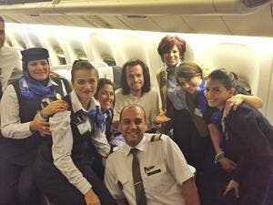Greek musician Yanni is currently in Egypt to perform over two nights by the Pyramids. (Facebook)