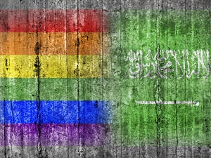 Homosexual relationships are illegal in Saudi Arabia (Shutterstock)