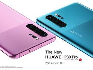 P30 Pro's brings consumers two new colour schemes
