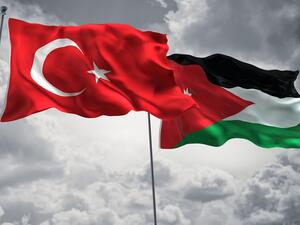 Two countries' bilateral trade was nearly $960 million, with Turkey's exports to Jordan totaled $860.9 million in 2018.