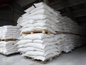 ECBM clarified in a report that cement exports in February recorded $8 million.