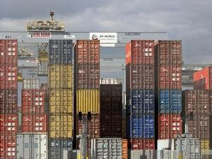 A DP World Container Port /AFP