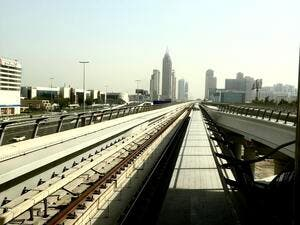 Photo from Dubai metro /Al Bawaba