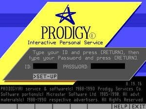 Prodigy login - remember the days of dialup? /Youtube