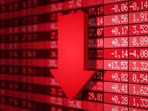 Globally, stock markets fell on Monday after trade talks between the US and China wrapped up without an agreement.