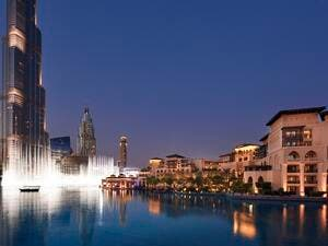 Palace Downtown with The Dubai Fountain and Burj Khalifa