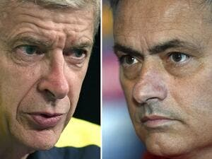 Wenger and Mourinho seem to have buried the hatchet