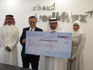 CrediMax donated to Bahrain Red Crescent