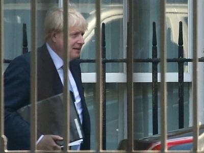 Britain's newly installed Prime Minister Boris Johnson holds his first cabinet meeting today faced with the burning challenge of resolving the three-year Brexit crisis in three months. (Isabel Infantes / AFP)