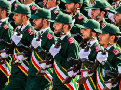 Iran's Revolutionary Guard (AFP/File Photo)