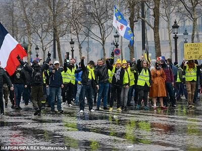 Yellow Vest protests have swept through the streets of Paris this year in an outcry against fuel price rises and falling living standards. (Shutterstock/ File Photo)