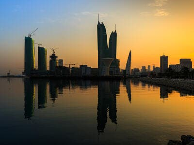 Beautiful view of iconic buildings Bahrain (Shutterstock)