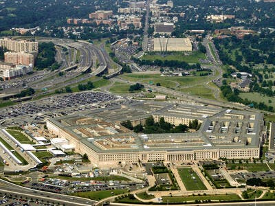 Aerial of the Pentagon (Shutterstock)