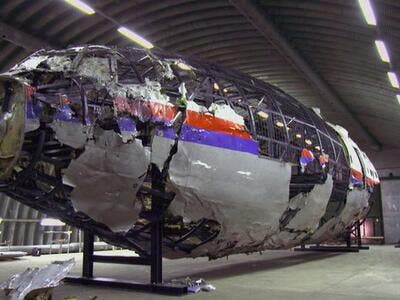 Malaysia Airlines flight MH17 (Twitter)