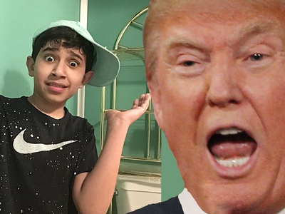 The Latest Kid to Impersonate Trump Online: Make American Great Again