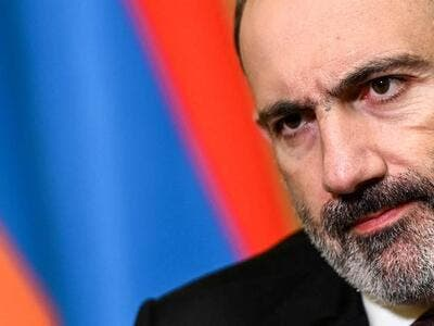 Nikol Pashinyan has faced protests and calls to resign. (AFP)