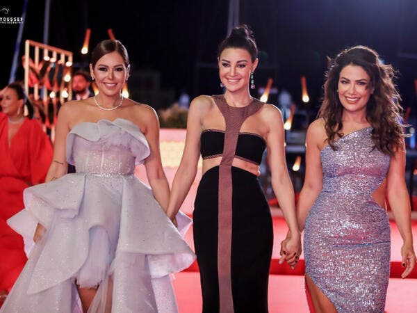 Stars stole the light on the red carpet at the opening ceremony of the third edition of El Gouna Film Festival Source sabamubarak Instagram