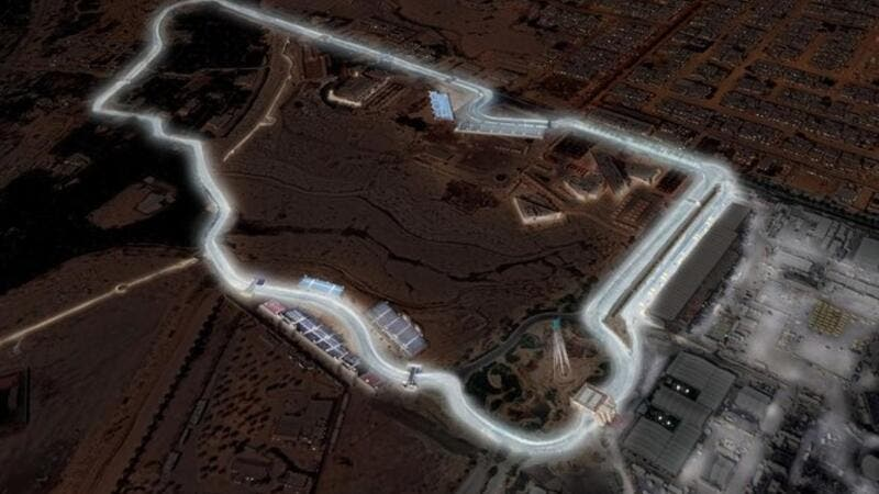 The Diriyah track will host Formula E's first ever night race. (AN Photo)