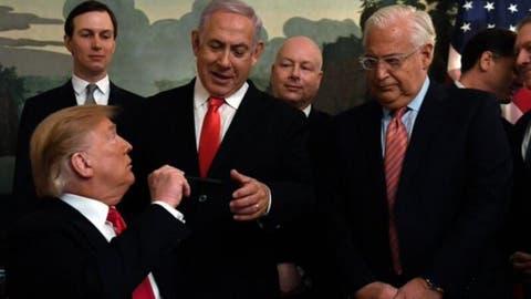 Benjamin Netanyahu and Donald Trump (Twitter)