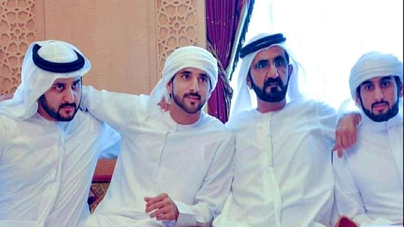 Sheikh Hamdan bin Mohammed bin Rashid Al Maktoum, Crown Prince of Dubai and Chairman of the Dubai Executive Council, and two of his brothers are set to have a grand wedding ceremony. (Twitter)