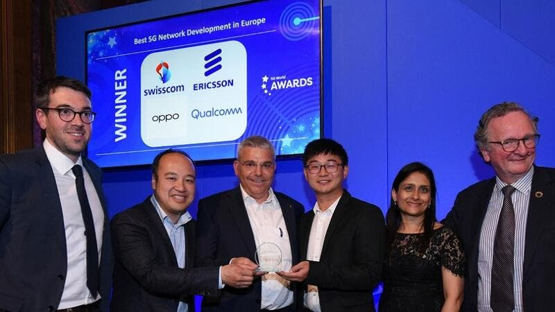 Ericsson's 5G Leadership in Europe Awarded at World 5G Summit | Al