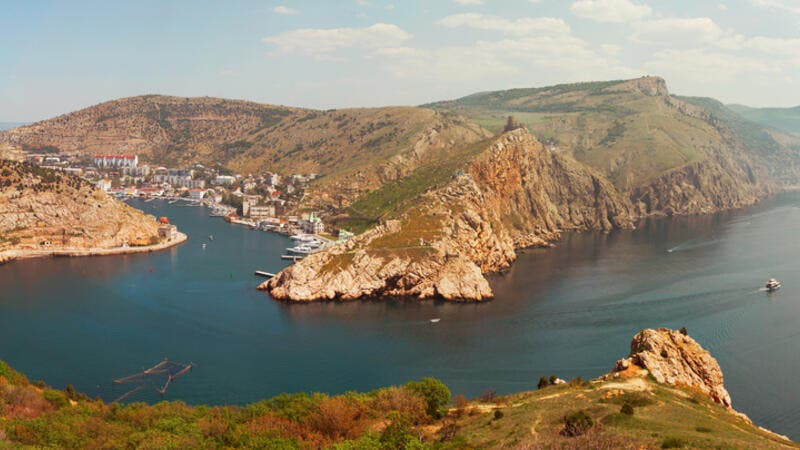 Balaklava city on the Crimean Peninsula (Shutterstock)