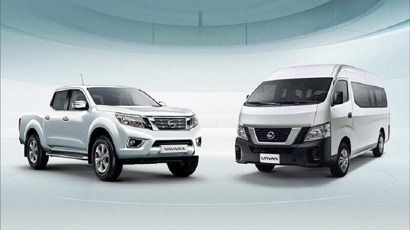 Nissan Navara Pickup and Nissan Urvan