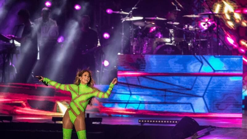 Jennifer Lopez Under Fire After Performing 'Semi-Naked' In