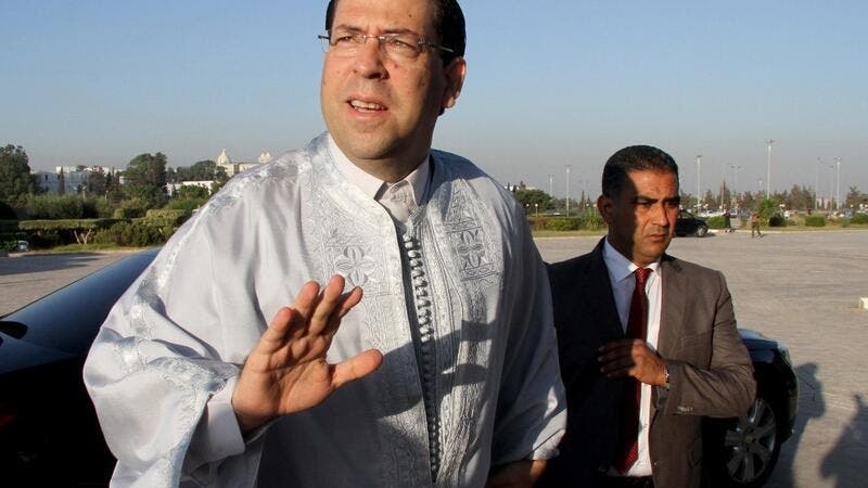 Tunisian Prime Minister Youssef Chahed  (AFP)