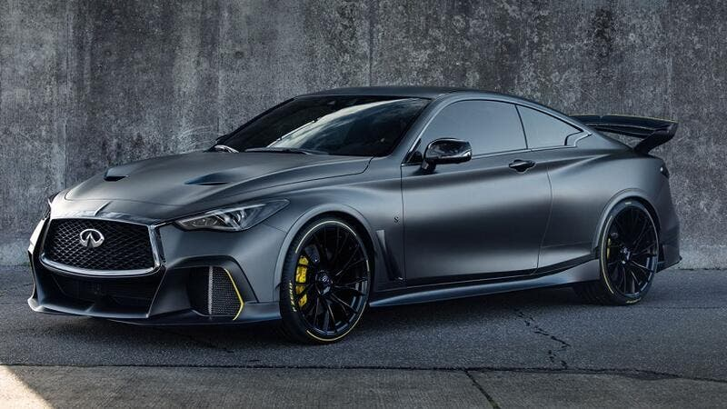 INFINITI will continue to test and validate elements of the Q60 Project Black S prototype and will take a decision on the production potential for the car and its technologies by the end of 2019.