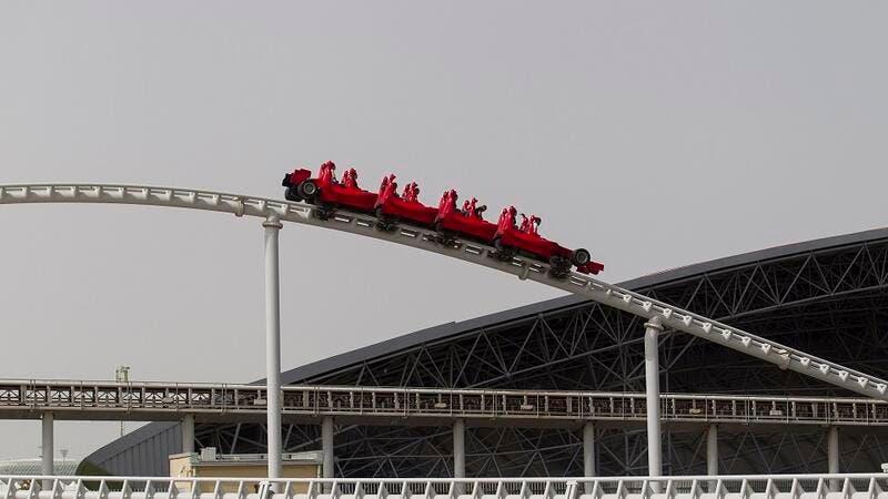 Ferrari World Abu Dhabi Celebrates National Roller Coaster