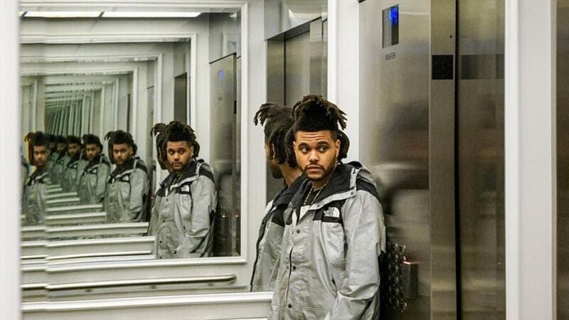 The Weeknd debuted a new look in his native Toronto on Monday Source @abelvocals Instagram