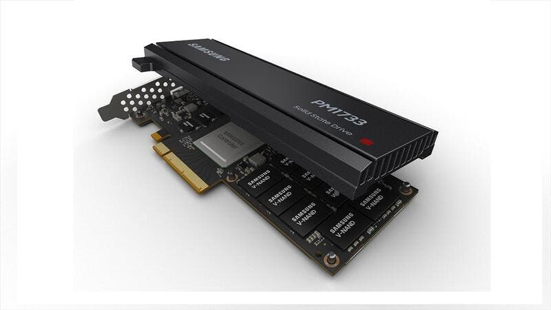 PCIe Gen4 solid state drive (SSD) series, PM1733 HHHL
