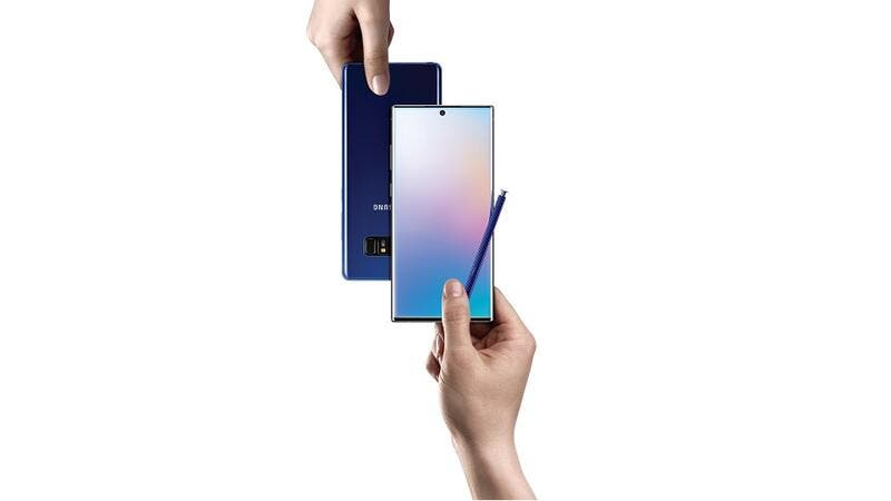 Upgrade your old smartphone to the new Galaxy Note10 with Samsung's Trade Up Deals