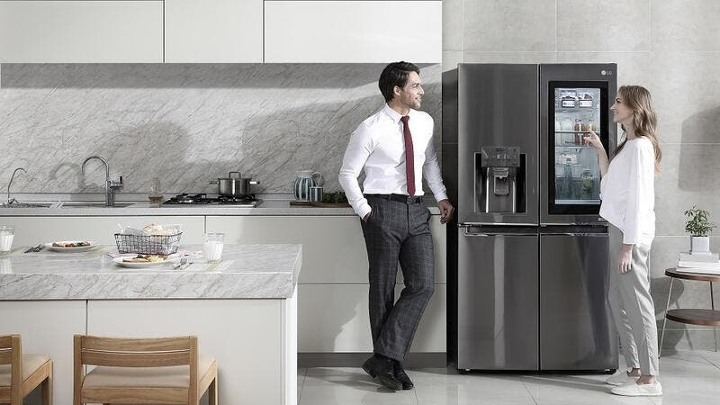 LG InstaView Door-in-Door refrigerator provides for better health and fitness at home