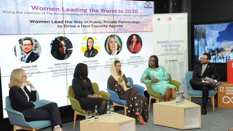 Expo 2020 Dubai, Google, SAP, The AECF, Everledger, PwC, and UBS Join Forces for Women Leading UN SDGs in MEA