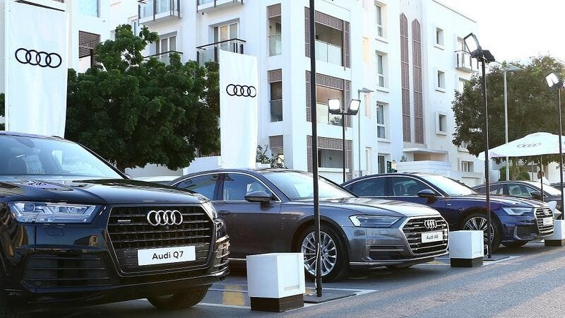 Audi Oman invited its customers and visitors to Al Mouj to come and see the Audi range and learn more about their capabilities and advanced technologies