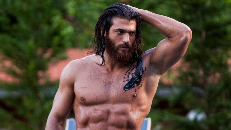 Yaman's picture shocked his fans (source: @canyaman Instagram)