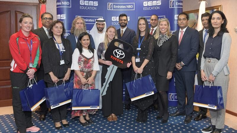 GEMS Education Teachers Win Grand Prizes in GEMS Rewards-Emirates NBD Competition
