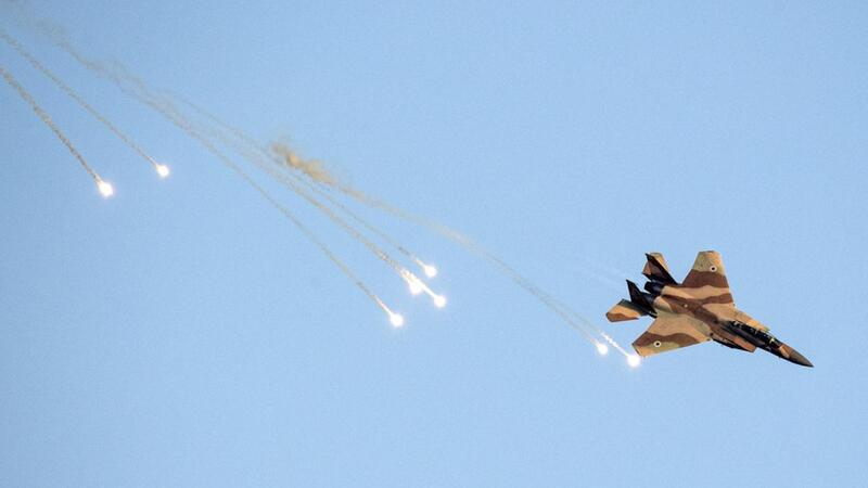 While some missiles were intercepted by Syria, others hit their intended targets. AFP