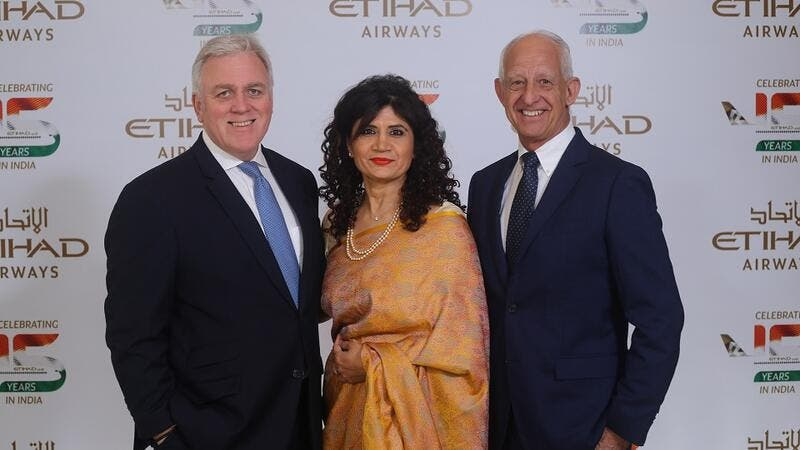 Etihad Airways Celebrates 15 Years of Flying to India