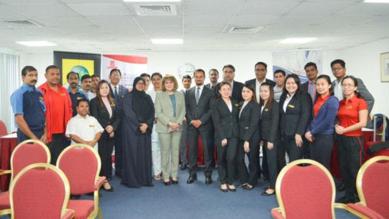 Al Bustan Centre & Residence Promotes Healthy Living Among Employees Through Medical Camp