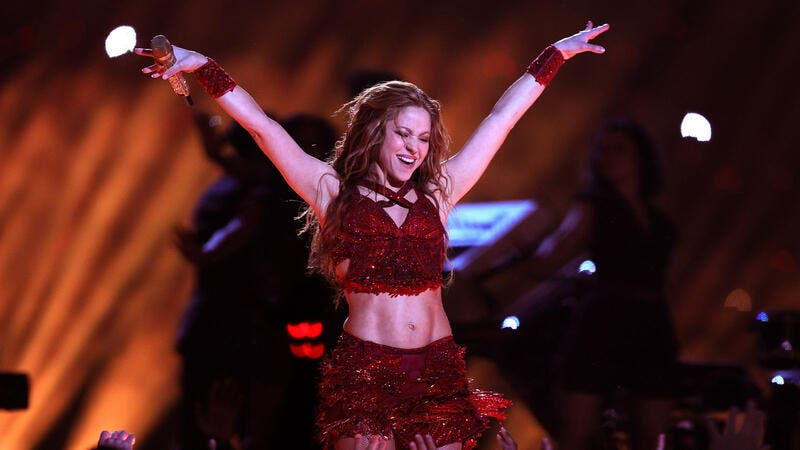 Shakira's father was born in New York to Lebanese parents