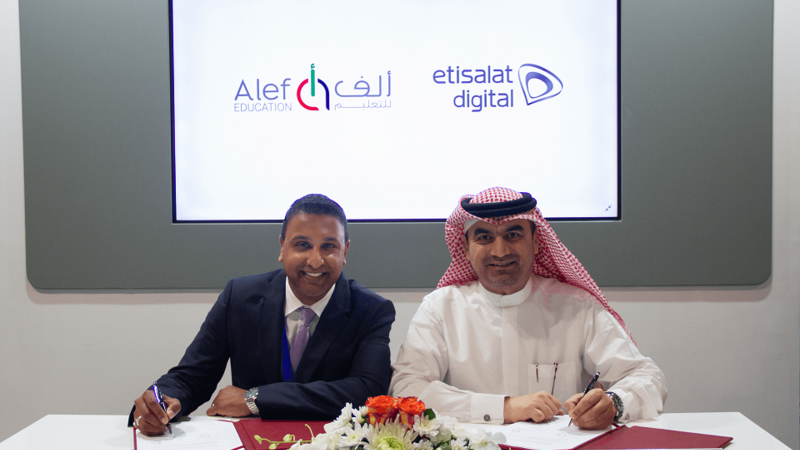 Etisalat Digital and Alef Education Team up to 'Shape the Future' of Education