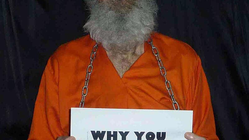 A photograph of the captive Bob Levinson released in January 2013 by his wife, who said the image was nearly two years old. (LEVINSON FAMILY/AFP/File)