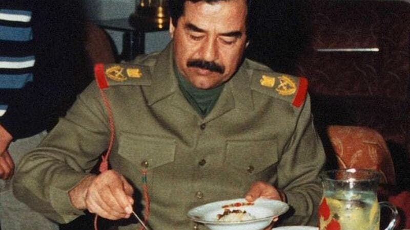 Abu Ali first cooked for Saddam Hussein in the army, during the Iran-Iraq war of the Eighties. (Shutterstock/ File Photo)