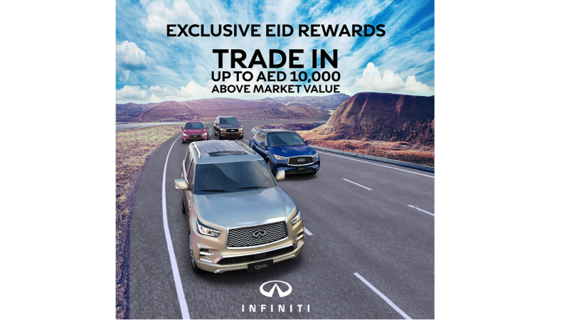 Customers can now trade-in their vehicle for up to AED 10,000 above market value