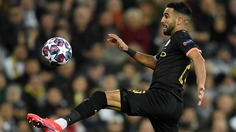 The Algeria international has had to battle hard for regular minutes under Pep Guardiola, but he considers that to be what football is all about (Photo: AFP)