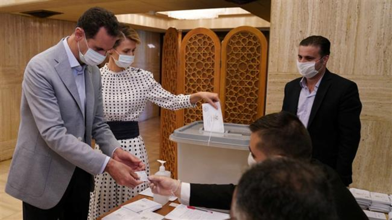 Syria's ruling party wins parliamentary election (Twitter)