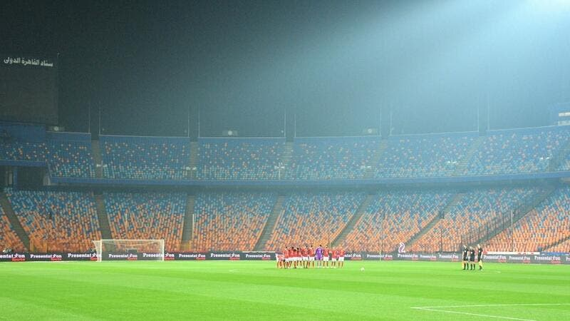 Egyptian football is all too familiar with empty stands after a blanket ban on fans attending. (Photo: AFP)